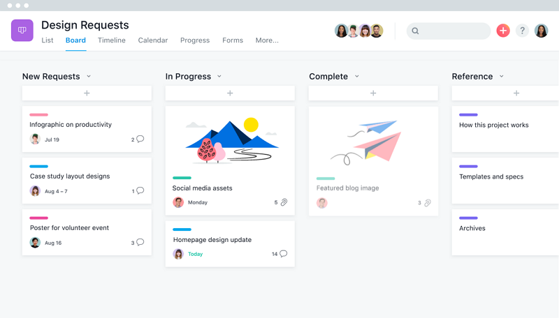 Best 6 Remote Team Collaboration Tools Asana