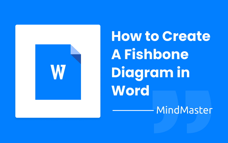 How To Create A Fishbone Diagram In Word Mindmaster