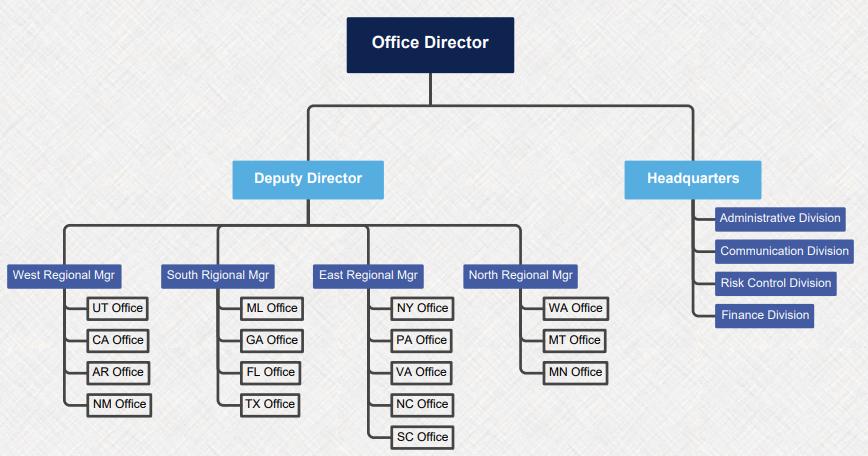 unternehmensstruktur mind map