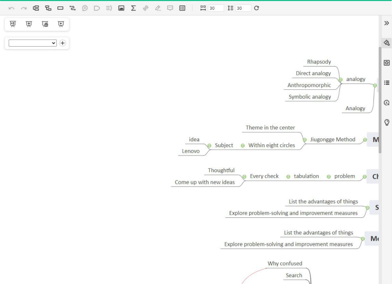 mind map for curriculum planning
