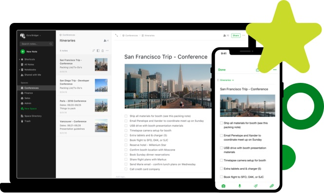 note taking app evernote