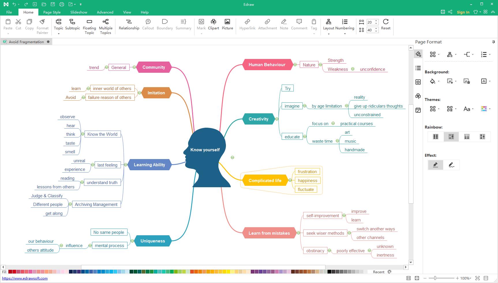 mindmaster mind map