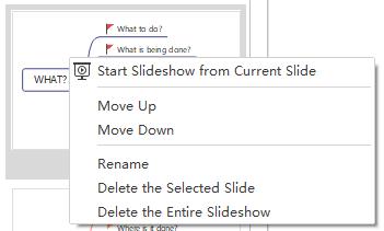 move slide options